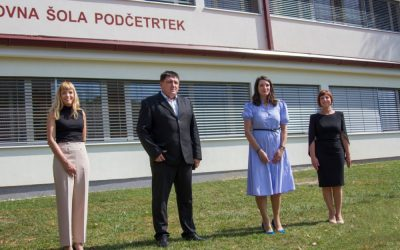 OBISK MINISTRICE dr. Simone KUSTEC